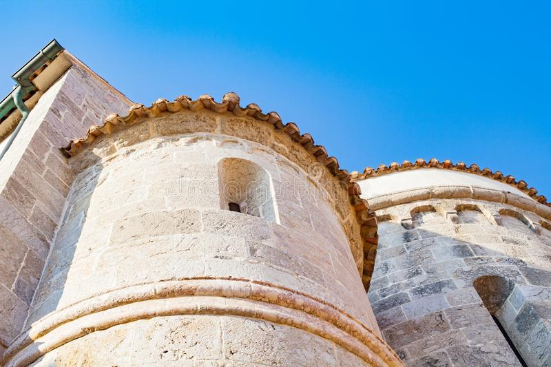 Tower of Krk Castle, Croatia royalty free stock photos