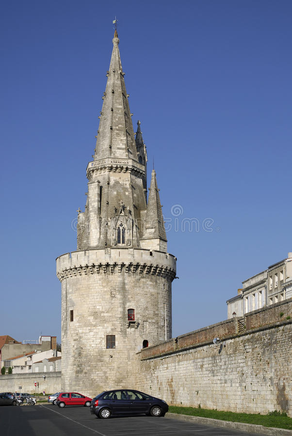 Download Tower Of The Lanterne At Lo Rochelle Stock Image - Image: 15767213