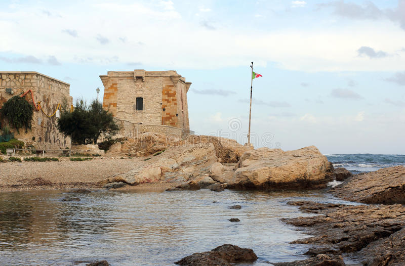 Tower of Ligny in Trapani - Sicily