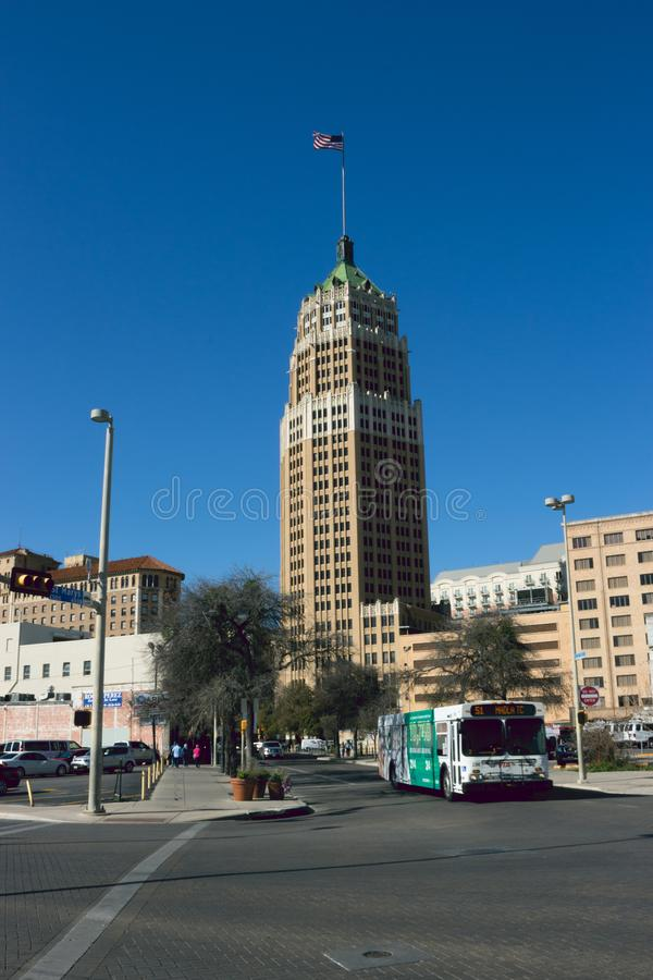 TOWER LIFE BUILDING IN SAN ANTONIO TEXAS, royalty free stock photos