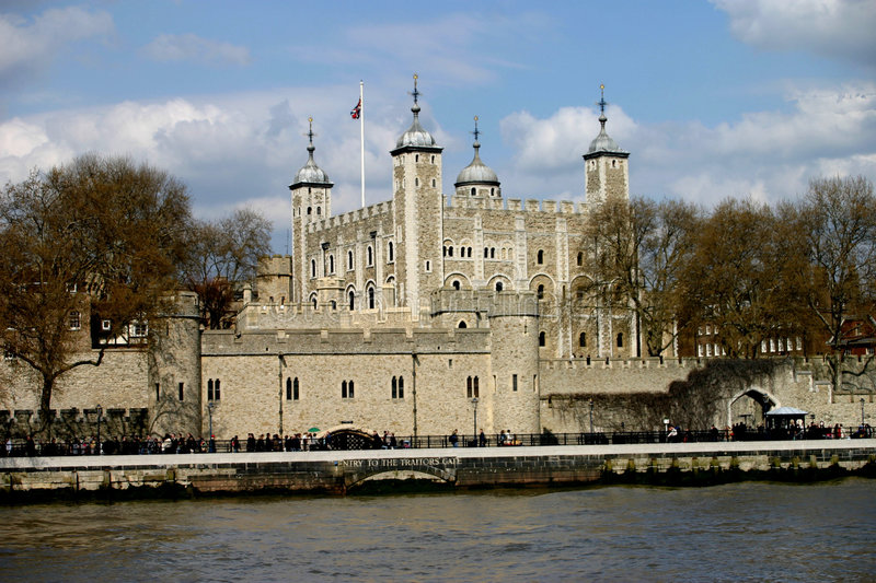 Download Tower of London stock image. Image of water, skyscrapers - 52627