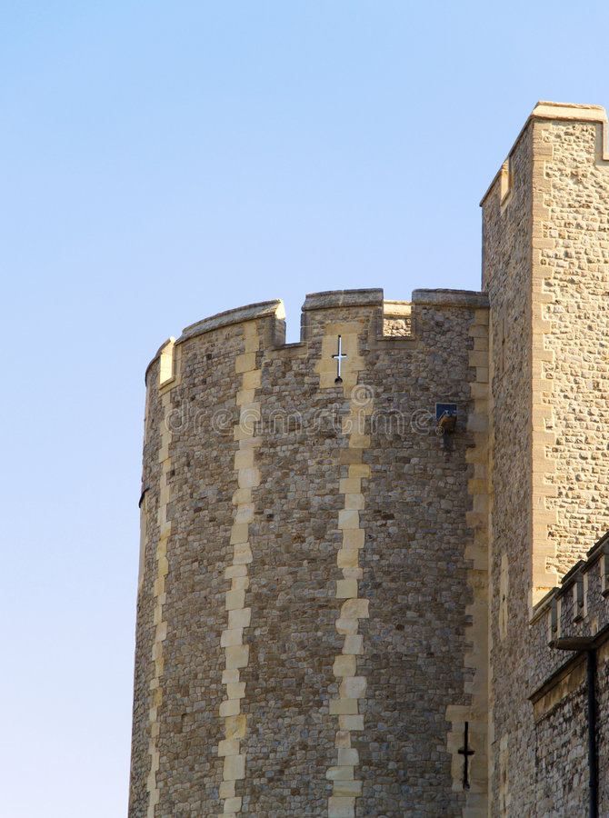 Download Tower of London stock photo. Image of citadel, curvy, battlements - 5591826