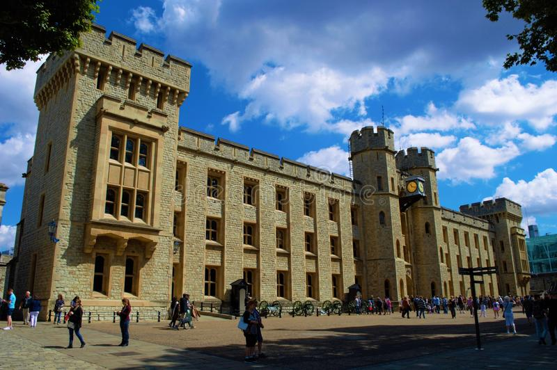 Tower of London Building royalty free stock image