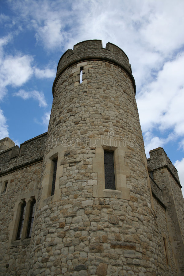 Tower of London detail stock photo
