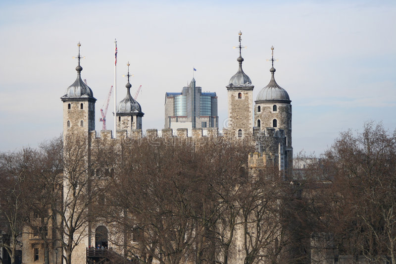 Tower of London England royalty free stock image