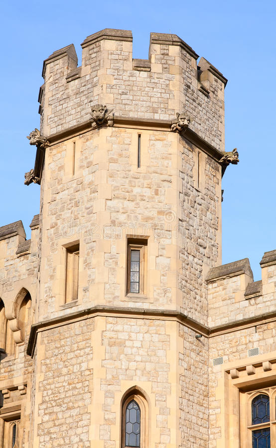Tower of London. Famous Tower of London, United Kingdom royalty free stock photography