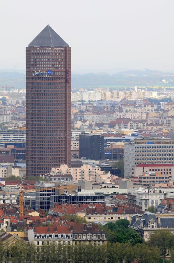 Download Tower In Lyon Part-Dieu - Tour Du Crédit Lyonnais Editorial Image - Image: 18411285
