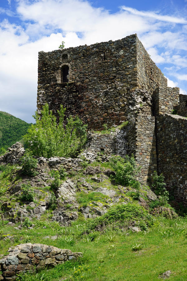 Tower of Maglic fortress royalty free stock images