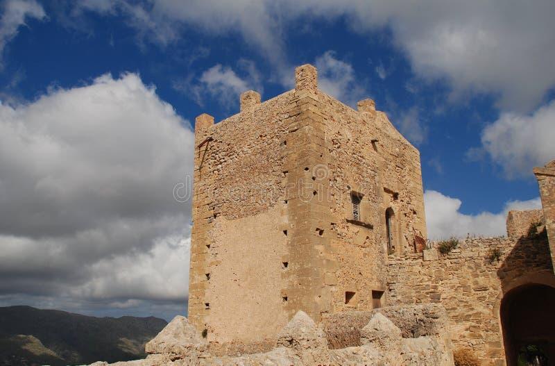Monastery of Puig de Maria, Majorca royalty free stock image