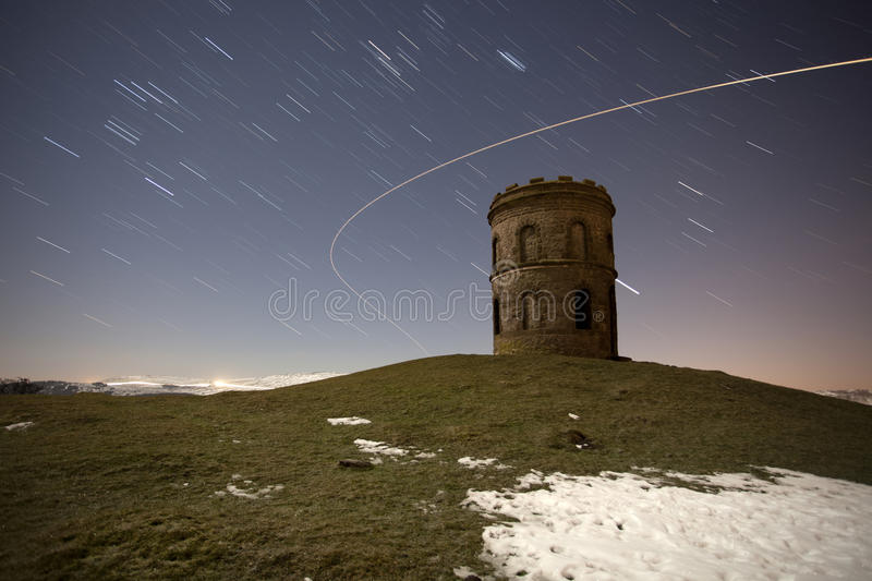 Tower At Night Stock Photography