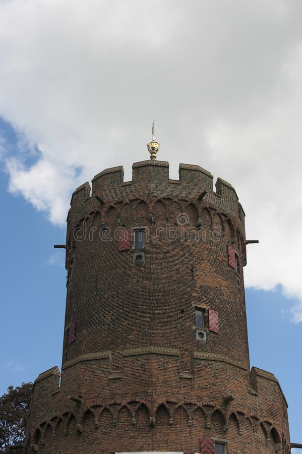 Download Tower in Nijmegen stock image. Image of gold, wheathervane - 220915
