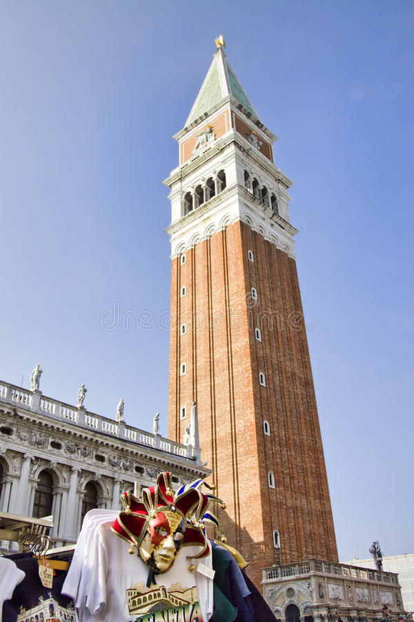 Free Tower Of San Marco Square, Venice Stock Images - 13435614