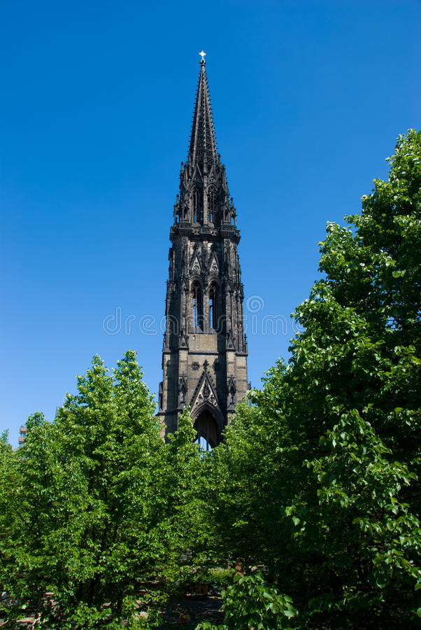Free Tower Of The Church Of St. Nicholas Stock Photography - 23529412