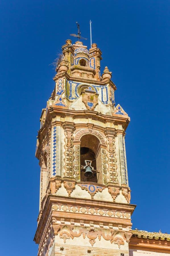 Free Tower Of The Santa Ana Church In Ecija Stock Photos - 152767543
