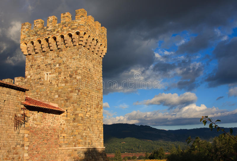 Download A tower of an old castle stock photo. Image of medieval - 22257220
