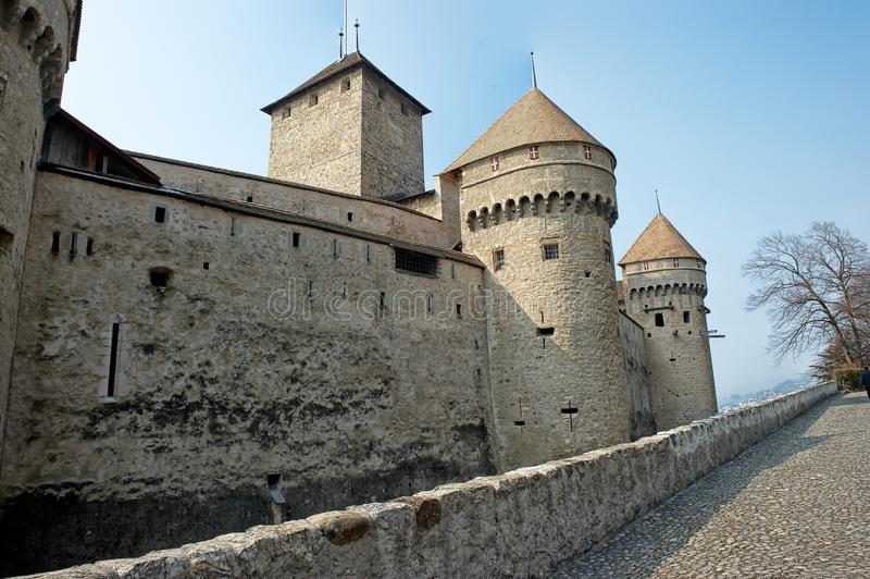 Download Tower And Parapet Of A Medieval Castle Stock Image - Image: 13502501