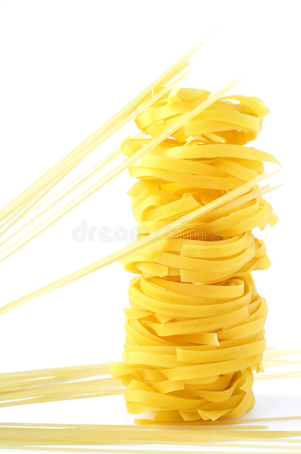 Download A tower from pasta stock photo. Image of italy, container - 18052760