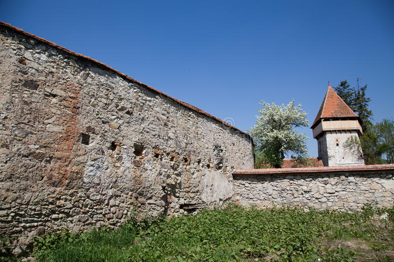 Tower Of Peasant Fortress Drauseni Royalty Free Stock Photography