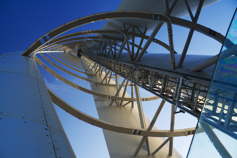 Download Tower perspective stock photo. Image of engineering, clyde - 4436982