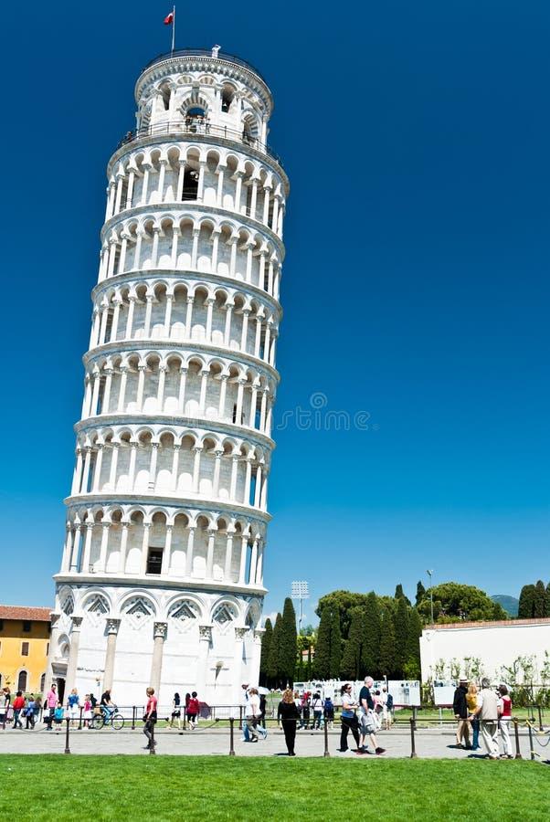 Tower of Pisa stock photo