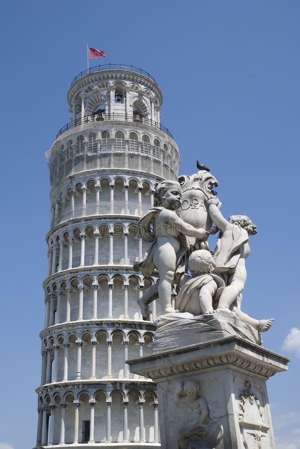Tower of Pisa royalty free stock image