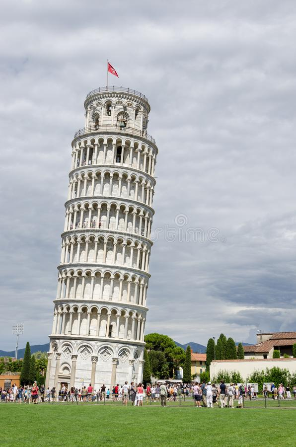 Tower of Pisa, Italy stock image