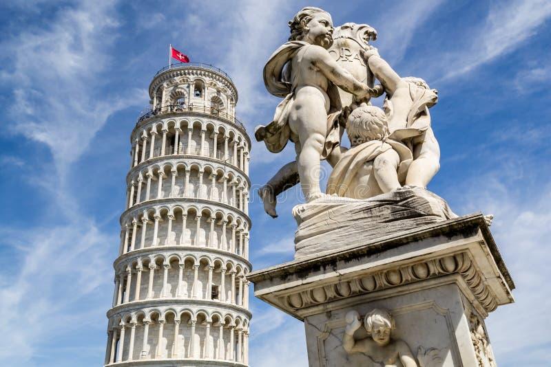 Tower of Pisa stock image