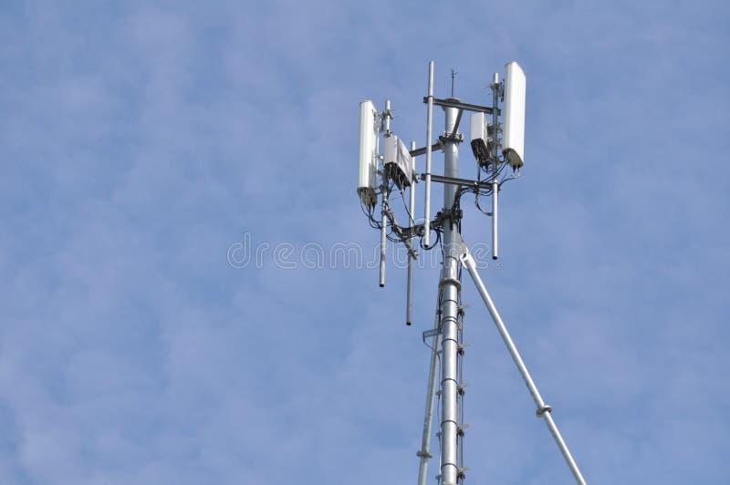 Wireless telephone antennas royalty free stock photos