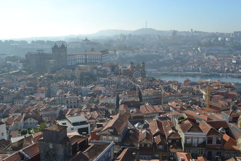 City view Porto,, Portugal royalty free stock photo
