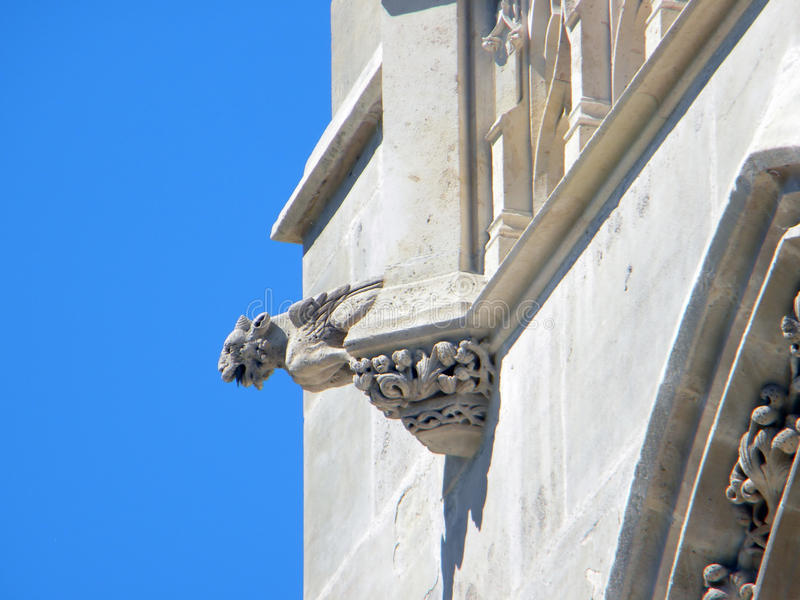 Download The Tower Of Saint Jacques, Paris. Detail Royalty Free Stock Photo - Image: 9677595