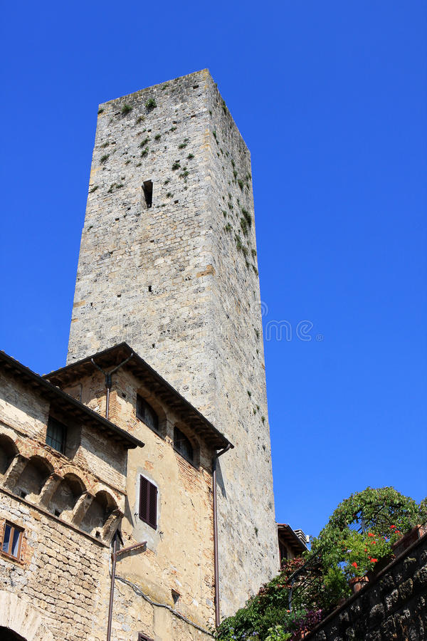 Download Tower, San Gimignano stock image. Image of europe, italy - 21213963