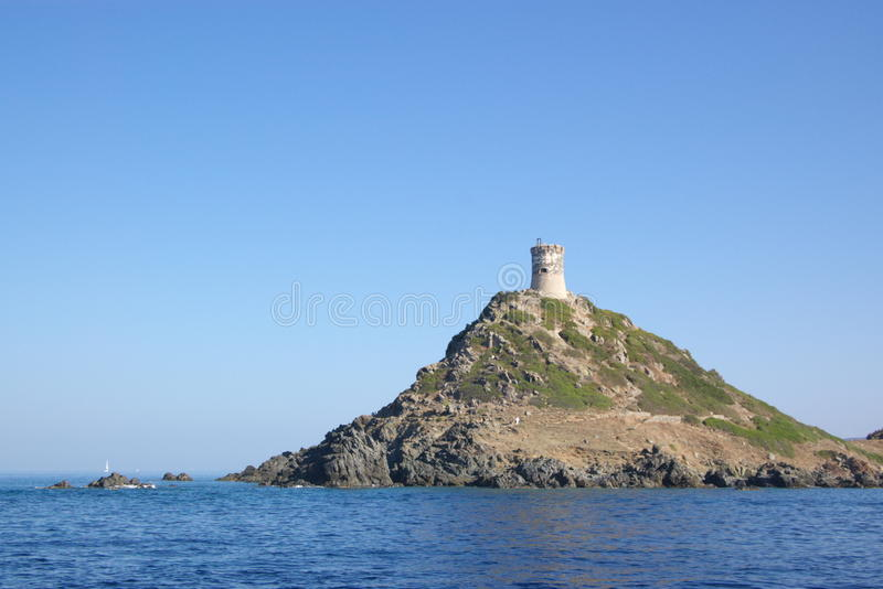 Tower on Sanguinary Islands stock image