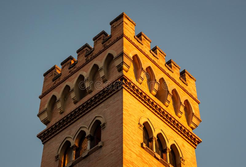 Tower in Seville royalty free stock images
