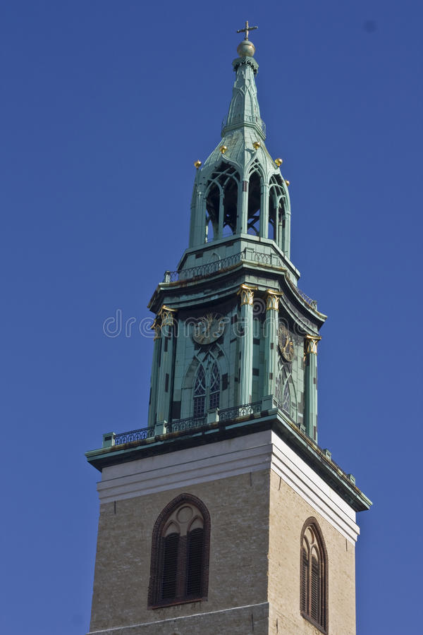 Download Tower Of St. Mary's Church In Berlin Royalty Free Stock Photo - Image: 21749705
