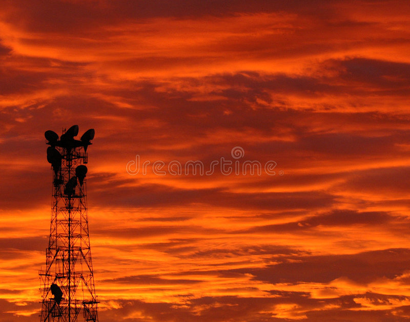 Download Tower At Sunrise 1804 Stock Photography - Image: 1062052