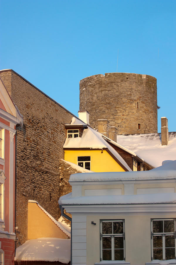 Tower Tallin Royalty Free Stock Images