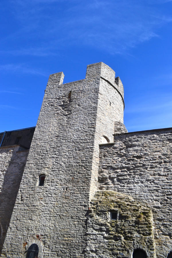 Tower of Tallinn fortress. royalty free stock photos
