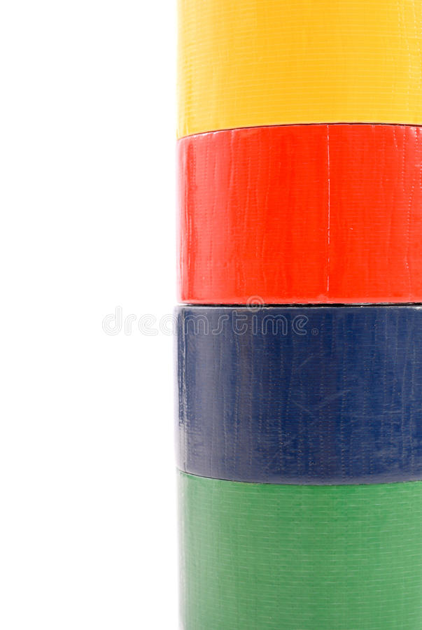 Download Tower Of Tape stock image. Image of shipping, construction - 22350279