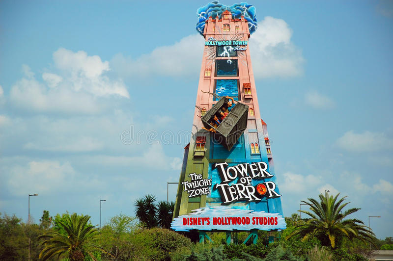 Download Tower of Terror road sign editorial image. Image of character - 31567715
