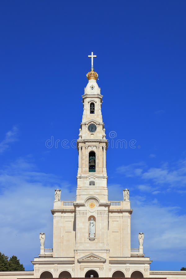 Download A tower, topped by a cross stock image. Image of mary - 27995081