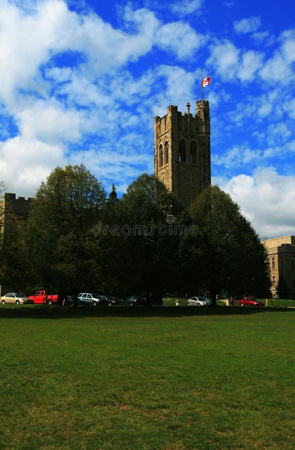 Tower in UWO royalty free stock photos