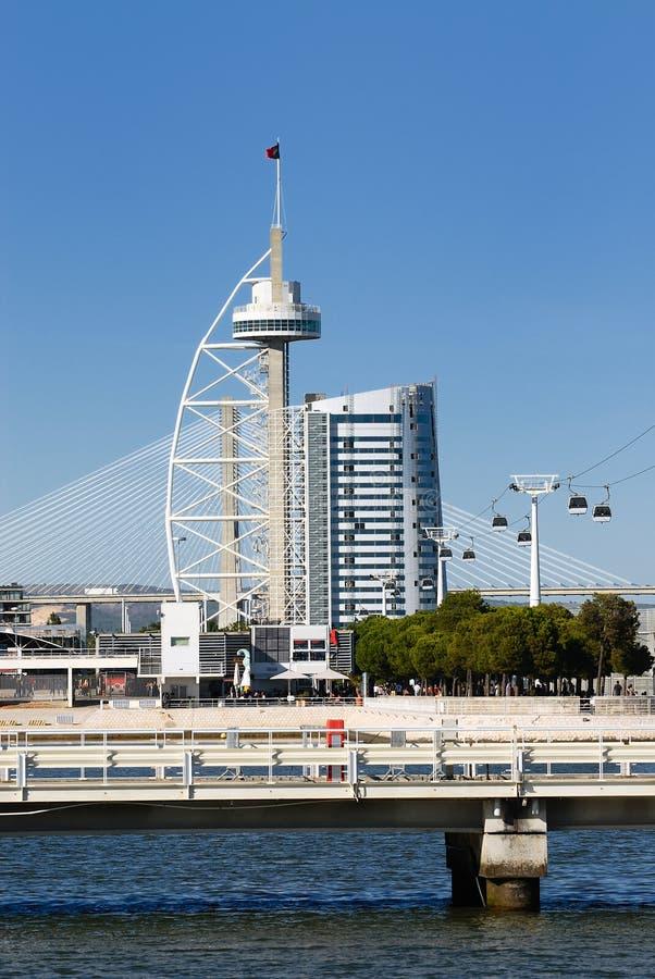 Tower Vasco Da Gama Royalty Free Stock Images