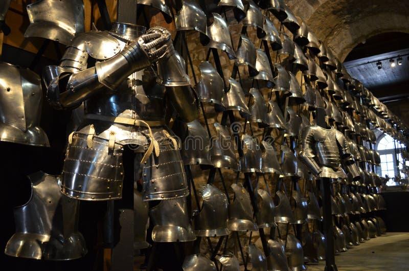 Tower von London königliche Waffenkammern lizenzfreies stockbild