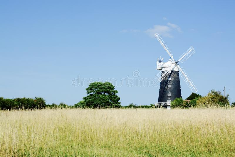 The tower windmill, Norfolk royalty free stock image