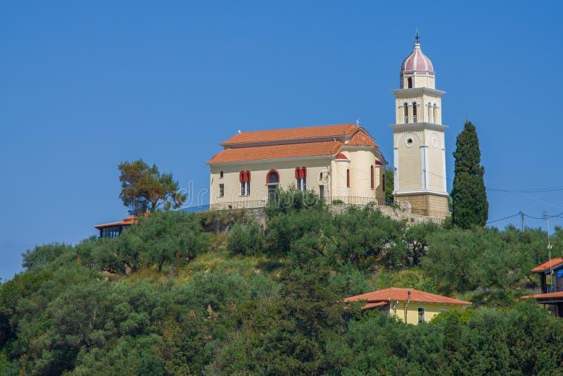 Tower Zakynthos royalty free stock image