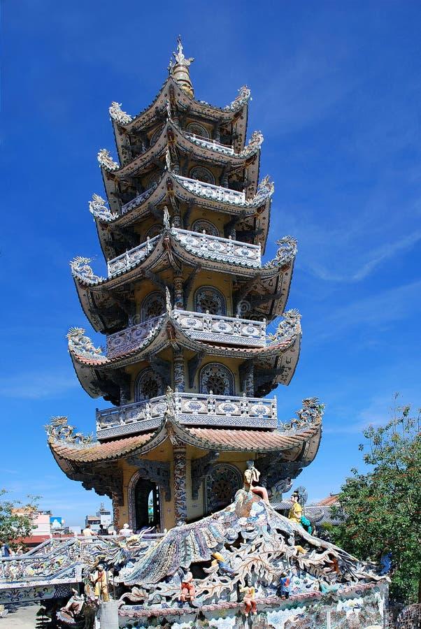 Towerin大叻(大叻)越南 图库摄影