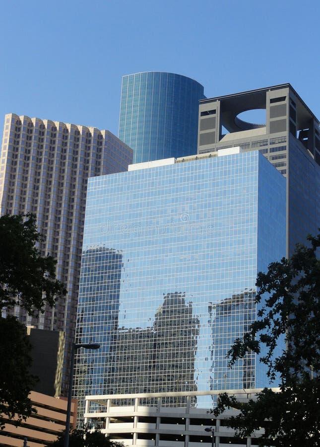 Towering город стоковые изображения rf