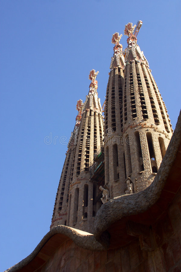 Download Towers stock image. Image of religion, modernism, barcelona - 1850725