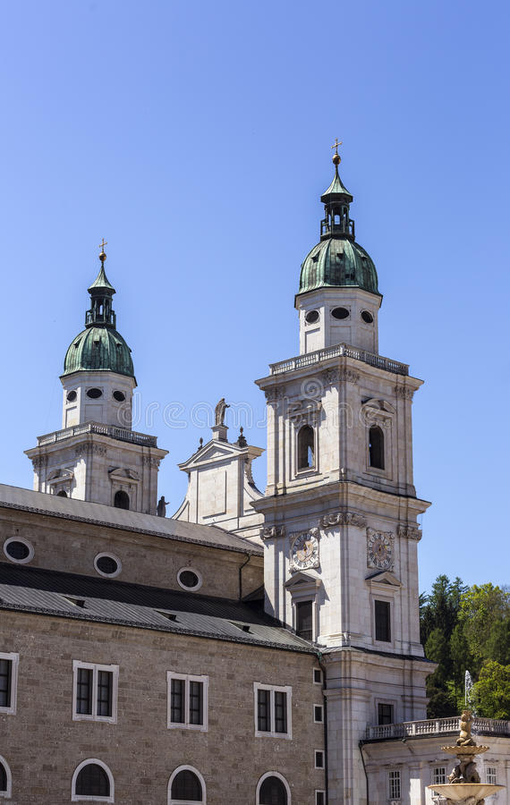 Towers of Chuch stock photo