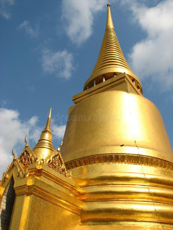 Download Towers of Gold stock image. Image of bangkok, palace - 14336317